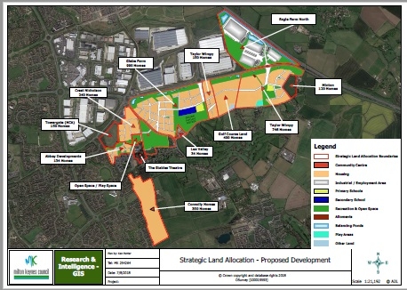 SLA Proposed Development Map